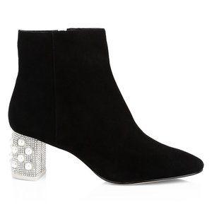NWT Sophia Webster  Embellished Suede Ankle Boots